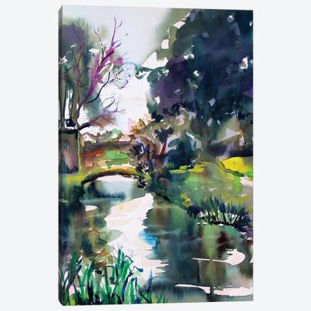 The Bridge I Canvas Print #MDP61} by Marina Del Pozo Canvas Art Print