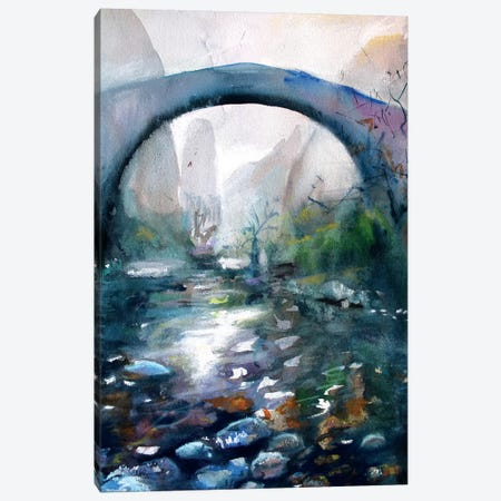 The Bridge III Canvas Print #MDP63} by Marina Del Pozo Art Print