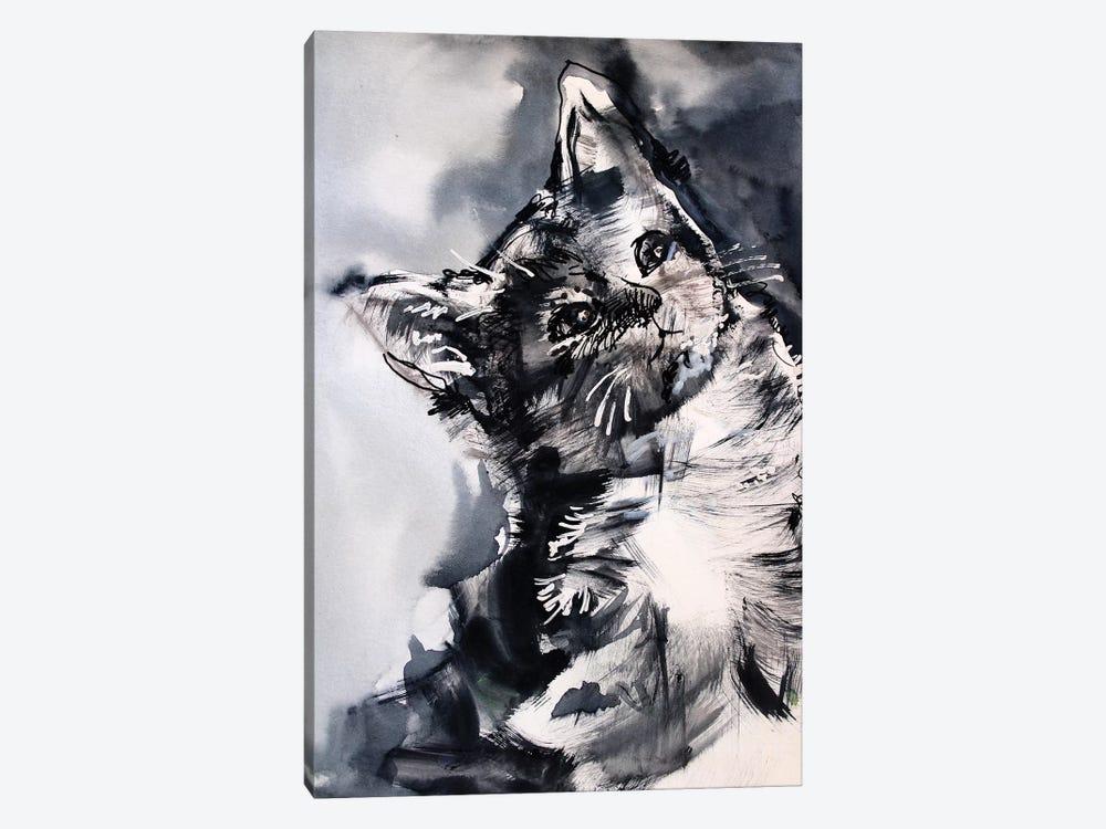 The Cat by Marina Del Pozo 1-piece Canvas Art Print