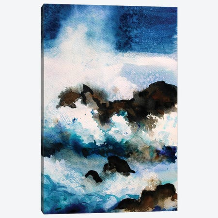 The Rocks Canvas Print #MDP67} by Marina Del Pozo Canvas Wall Art