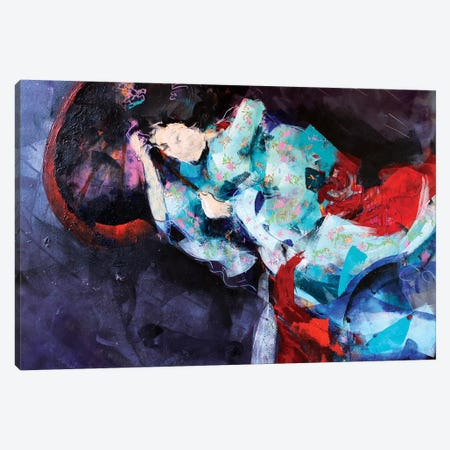 The Storm Canvas Print #MDP68} by Marina Del Pozo Art Print