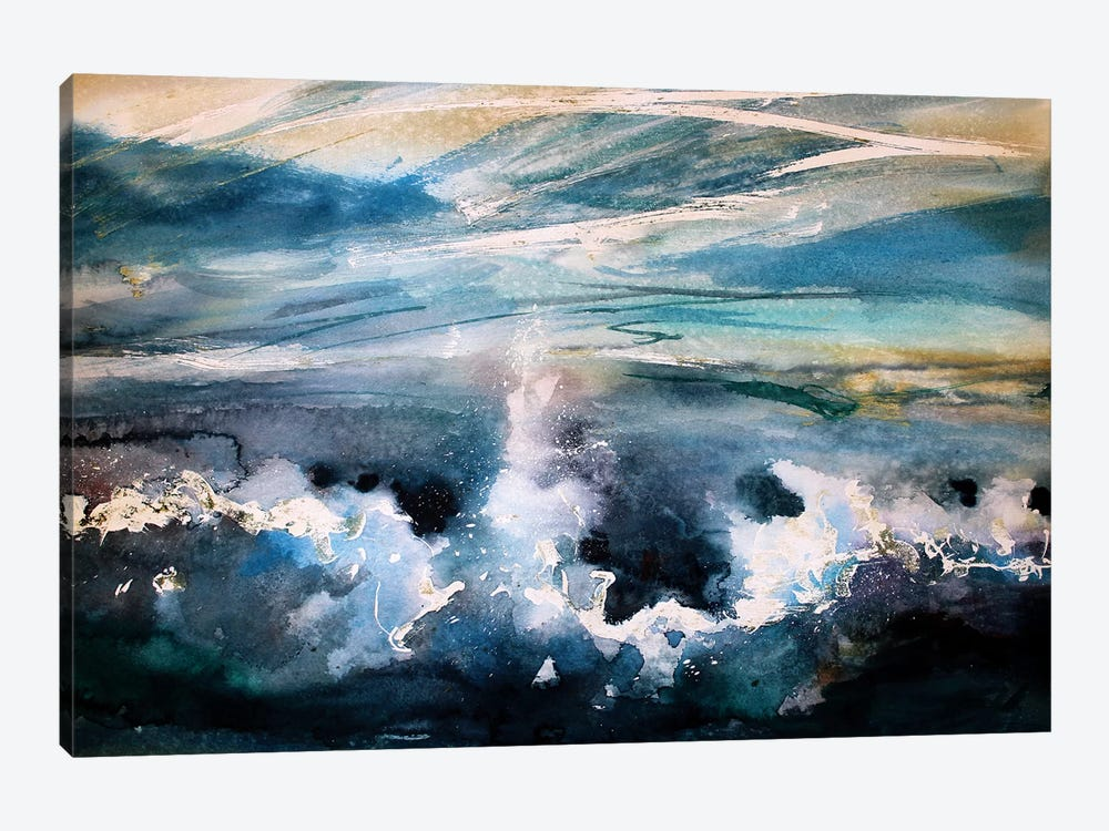 The Wave by Marina Del Pozo 1-piece Canvas Print