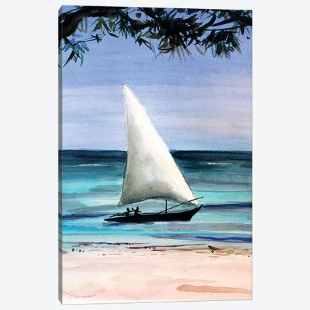 Travel Canvas Print #MDP72} by Marina Del Pozo Canvas Wall Art