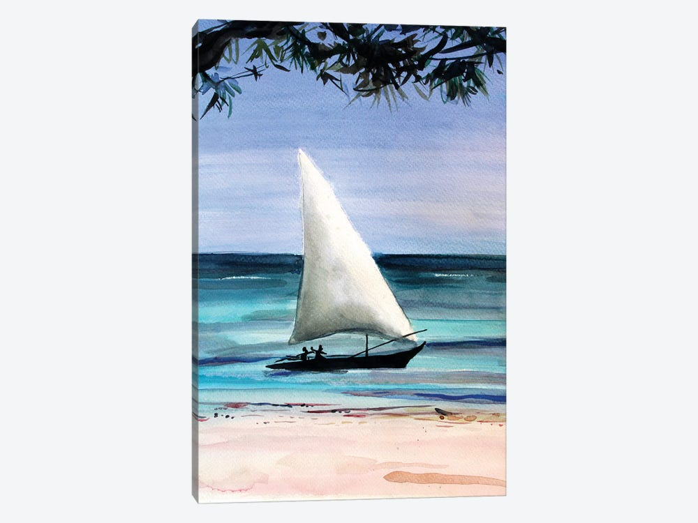 Travel by Marina Del Pozo 1-piece Canvas Art Print