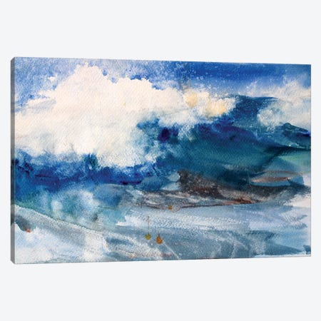 Water Canvas Print #MDP75} by Marina Del Pozo Canvas Art Print