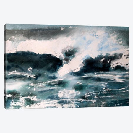 Wave I Canvas Print #MDP76} by Marina Del Pozo Canvas Print