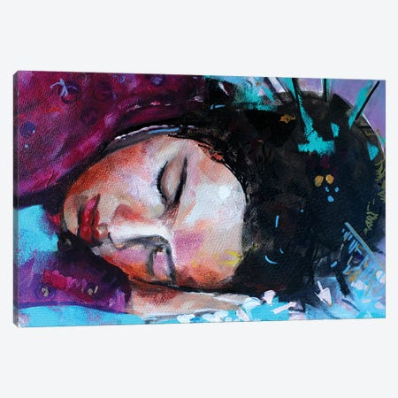 Geisha Canvas Print #MDP79} by Marina Del Pozo Canvas Artwork