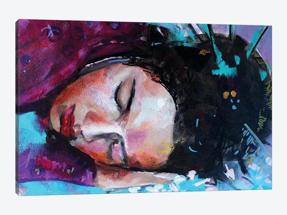 Geisha by Marina Del Pozo 1-piece Canvas Art
