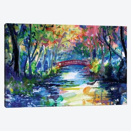 El Puente Canvas Print #MDP82} by Marina Del Pozo Art Print