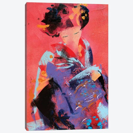 Geisha VI Canvas Print #MDP83} by Marina Del Pozo Canvas Print