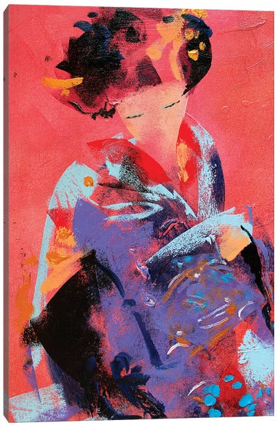 Geisha VI Canvas Art Print