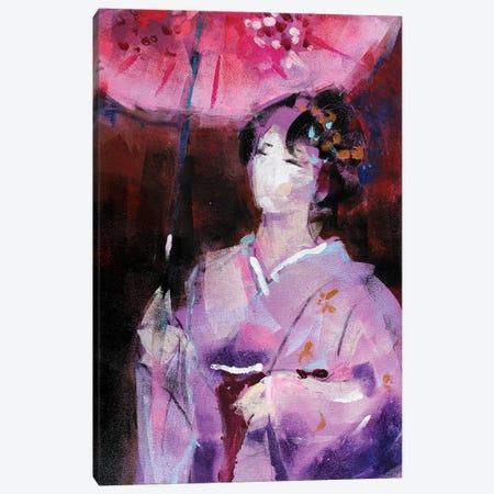 Geisha V Canvas Print #MDP85} by Marina Del Pozo Canvas Wall Art