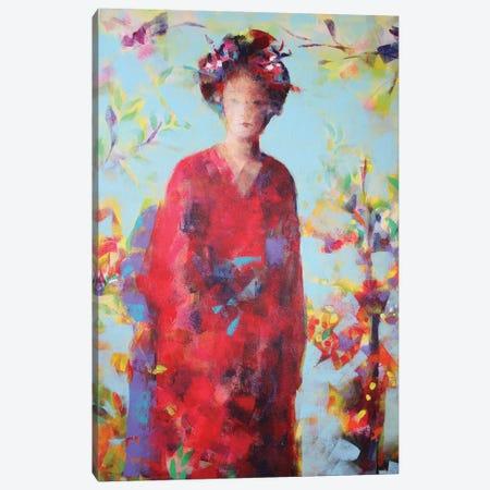 In The Garden Canvas Print #MDP86} by Marina Del Pozo Canvas Artwork