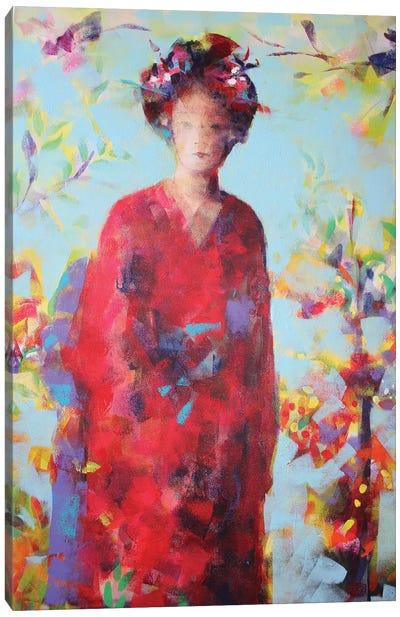 In The Garden Canvas Art Print
