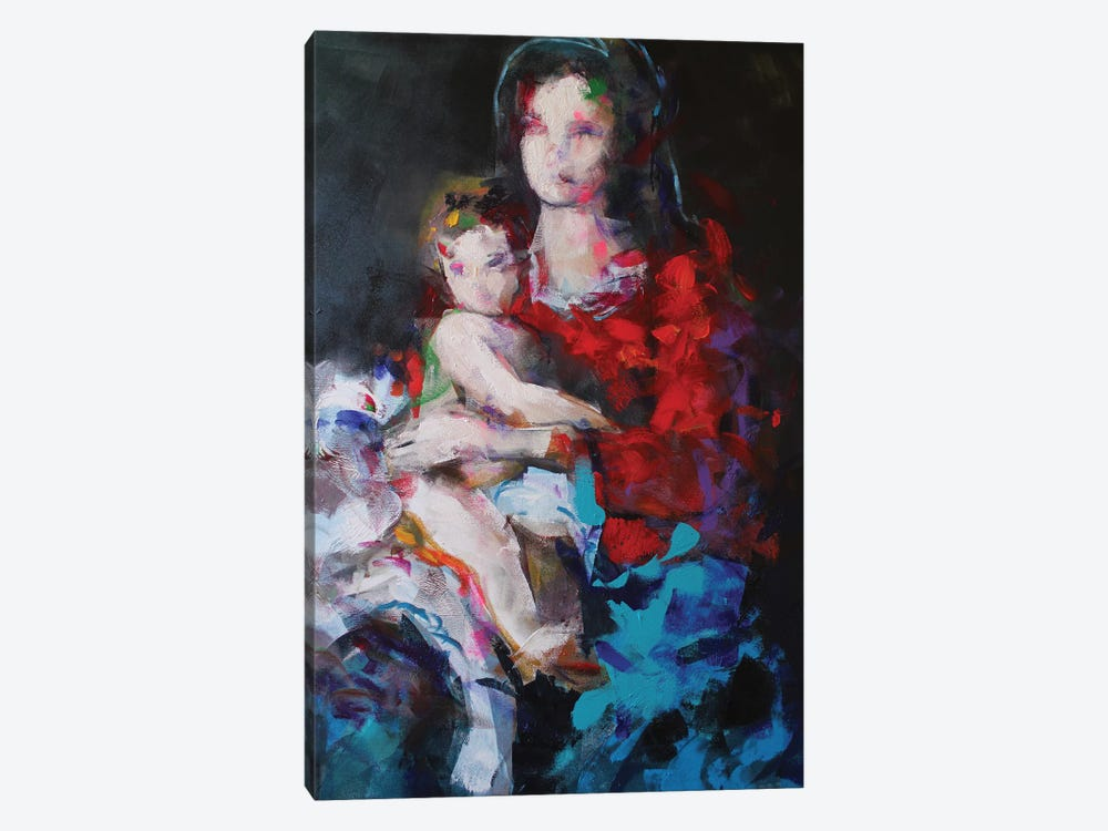 Madonna And Child by Marina Del Pozo 1-piece Canvas Wall Art