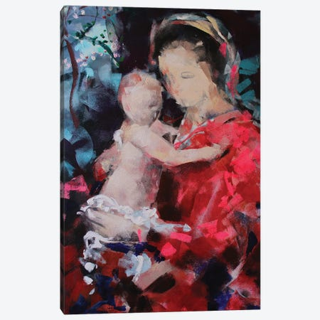 Sweet Madonna Canvas Print #MDP89} by Marina Del Pozo Canvas Art Print