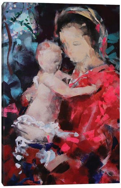 Sweet Madonna Canvas Art Print