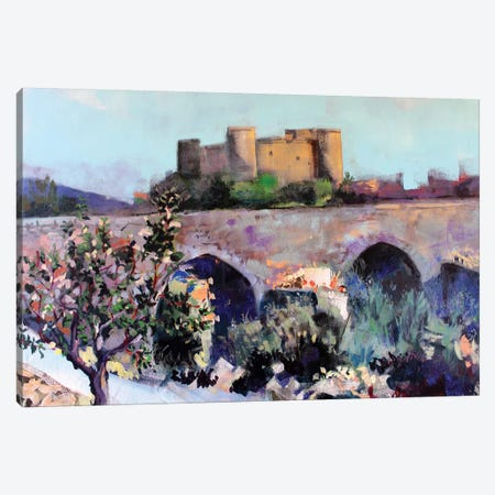 Castle Canvas Print #MDP8} by Marina Del Pozo Canvas Print