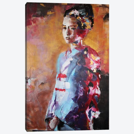 Good Gheisa Canvas Print #MDP90} by Marina Del Pozo Canvas Artwork