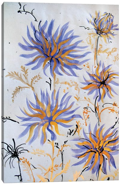 Chinese Strokes I Canvas Art Print