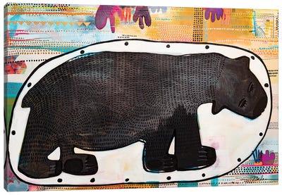 Cave Bear Canvas Art Print
