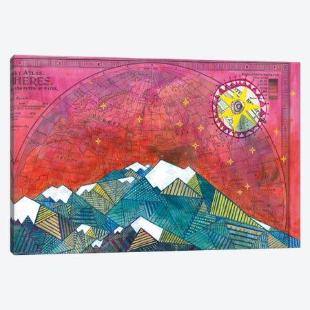 Denali I Canvas Print #MDR21} by Madara Mason Art Print
