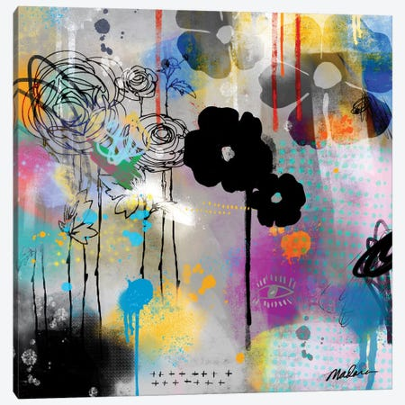Digital Organics Canvas Print #MDR23} by Madara Mason Art Print