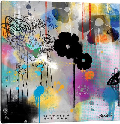 Digital Organics Canvas Art Print