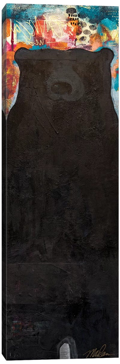 Emerging Bear Canvas Art Print