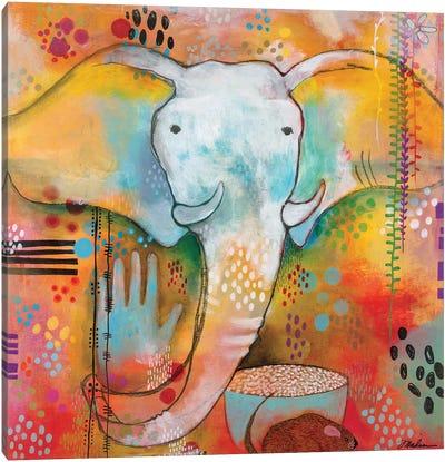 Ganesha Clears The Way Canvas Art Print