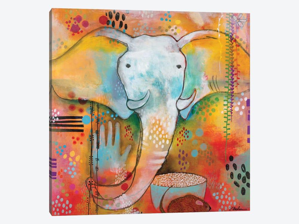 Ganesha Clears The Way by Madara Mason 1-piece Canvas Art Print