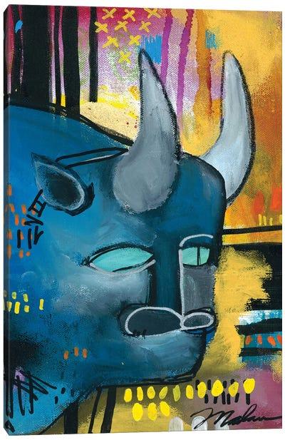 It's All Bull Canvas Art Print