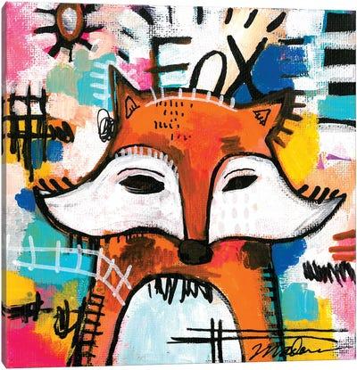 Alpha Fox Canvas Art Print