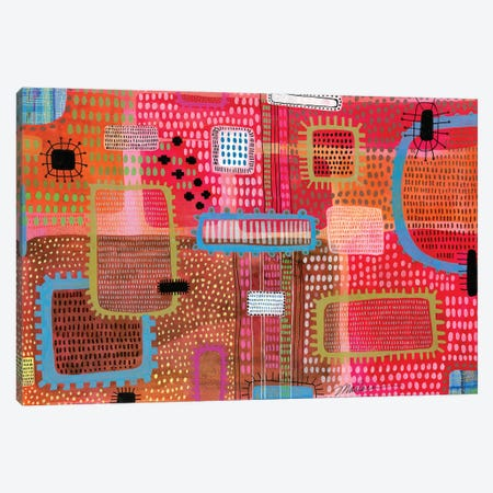Noise In The System Canvas Print #MDR44} by Madara Mason Canvas Artwork