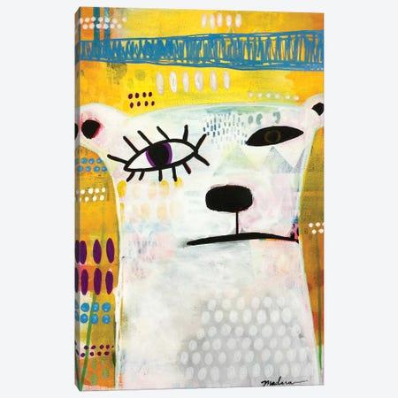 Picasso Bear Canvas Print #MDR47} by Madara Mason Canvas Art