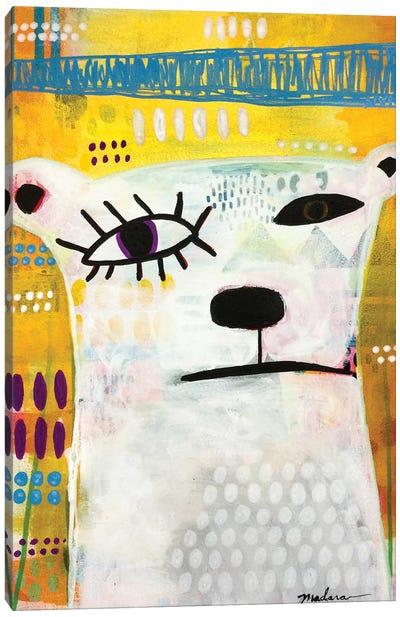 Picasso Bear Canvas Art Print