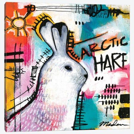 Alpha Hare Canvas Print #MDR4} by Madara Mason Canvas Art