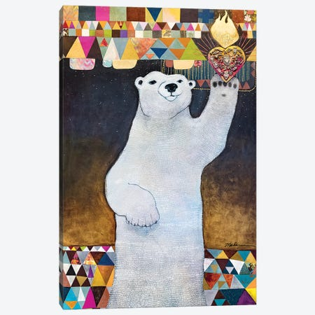 Sacrum Cor Arcticum Canvas Print #MDR51} by Madara Mason Canvas Art
