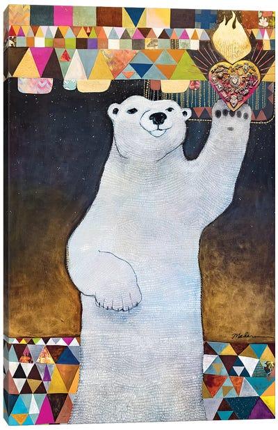 Sacrum Cor Arcticum Canvas Art Print
