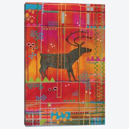 Summer Caribou Canvas Print #MDR60} by Madara Mason Canvas Print