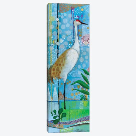 Summer Crane Canvas Print #MDR61} by Madara Mason Canvas Print