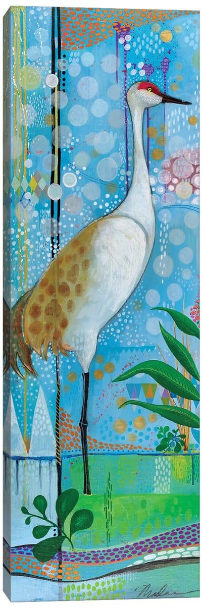 Summer Crane Canvas Art Print