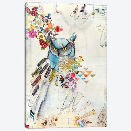 Unity Owl Canvas Print #MDR66} by Madara Mason Canvas Art