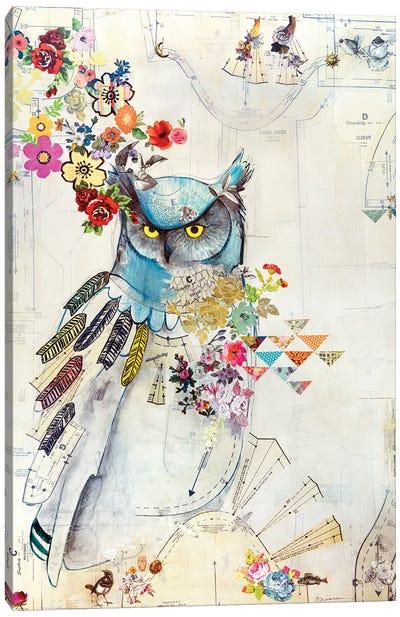 Unity Owl Canvas Art Print