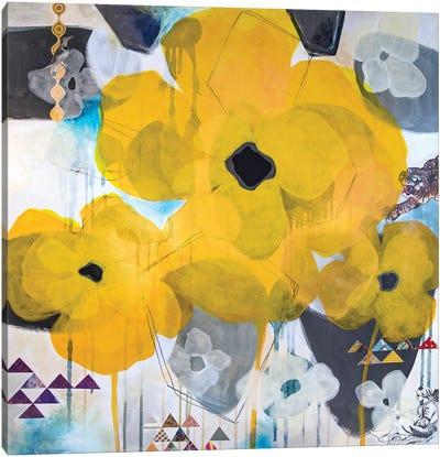 Yellow Poppies Canvas Art Print