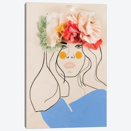 Flower Head I Canvas Print #MDS10} by Meredith Steele Art Print