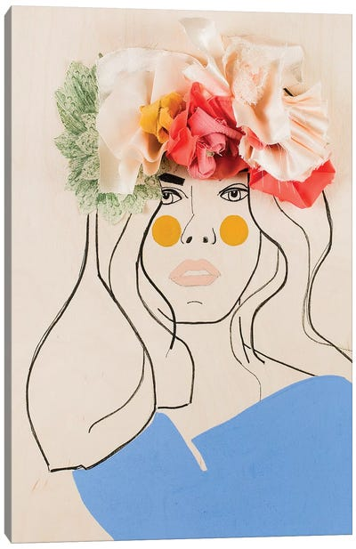 Flower Head I Canvas Art Print