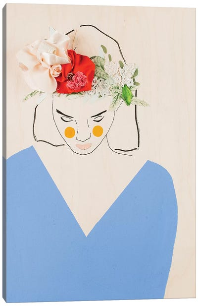 Flower Head II Canvas Art Print