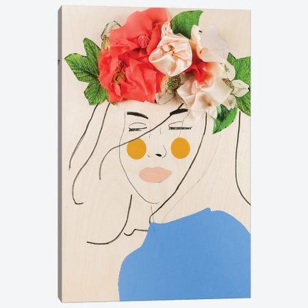 Flower Head III Canvas Print #MDS12} by Meredith Steele Art Print