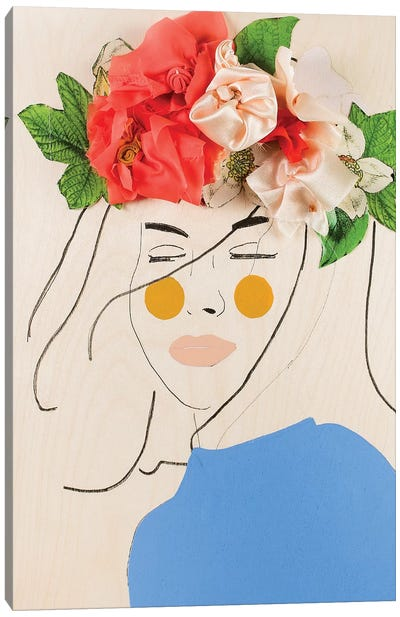 Flower Head III Canvas Art Print